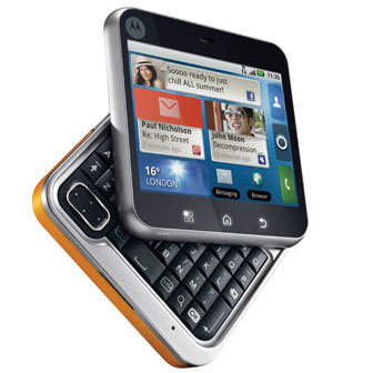 Motorola Flipout with android os