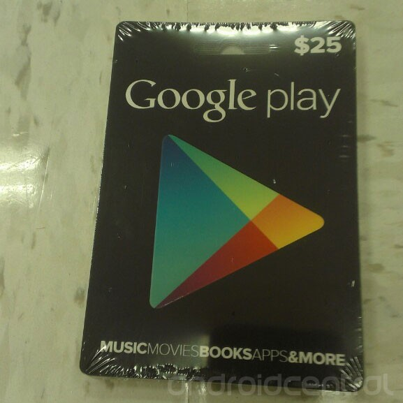 Google Play Gift Cards